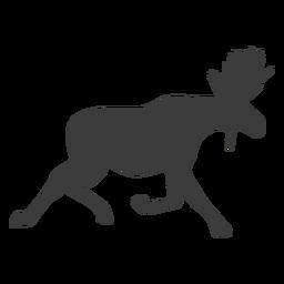 Alce alce silueta silueta animal