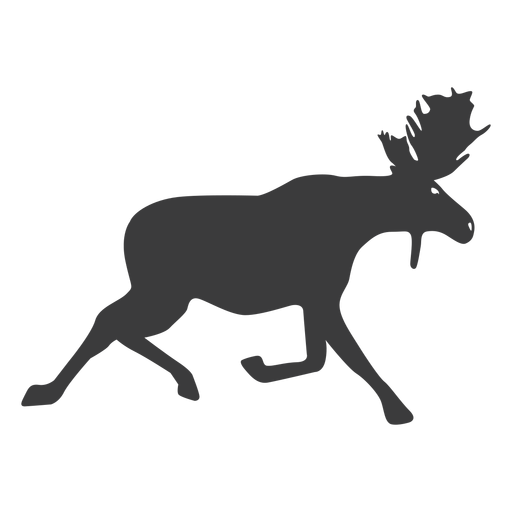 Alce antler chifre silhueta animal Transparent PNG