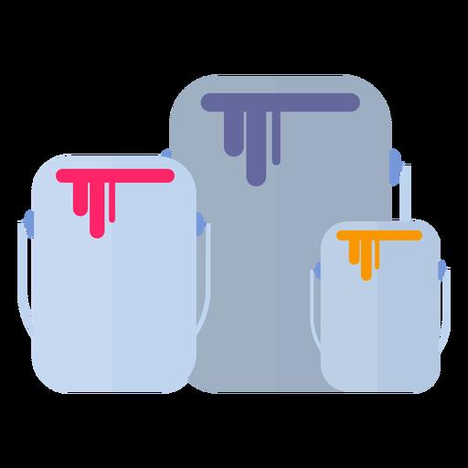 Farbe kann flach auffüllen Transparent PNG