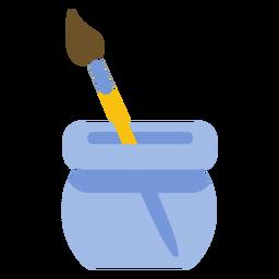 Pincel de ferramenta de pintura escova de cerdas plana