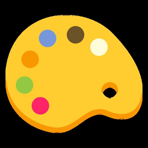 Palette paint color colour flat