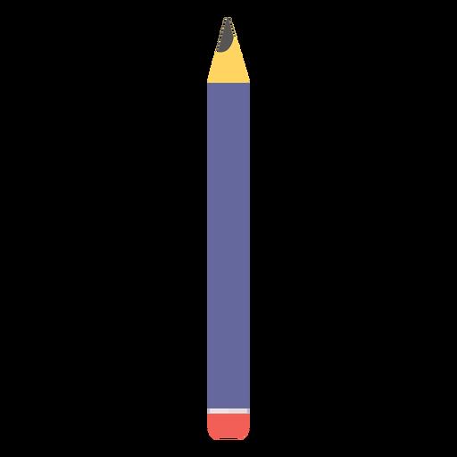 Lápis borracha borracha cor de cor plana Transparent PNG