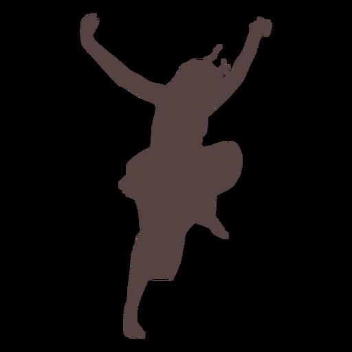 Pessoa, dançar, silueta Transparent PNG