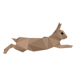 Rabbit bunny ear muzzle low poly
