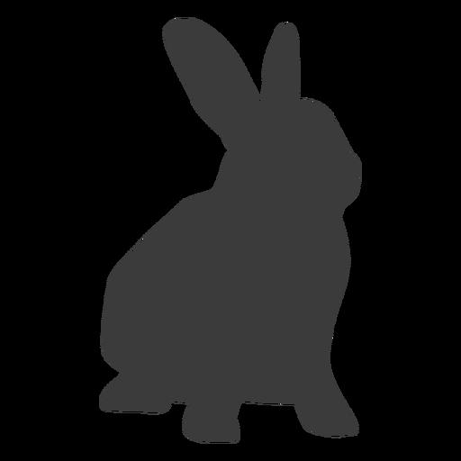 Conejo hocico conejito oreja silueta Transparent PNG