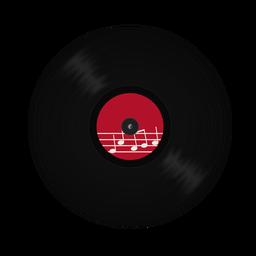 Rekord Vinyl Hinweis Abbildung
