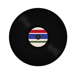 Record vinyl stripe illustration