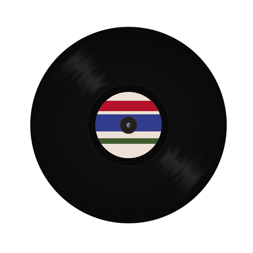 Record vinyl stripe illustration Transparent PNG