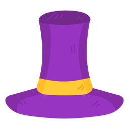 Ribbon hat flat