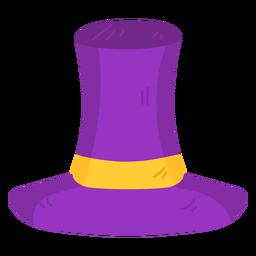 Sombrero de cinta plana