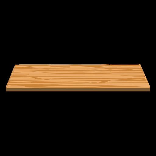 Shelf wood flat Transparent PNG