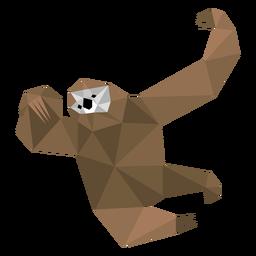 Garra de preguiça baixo poli