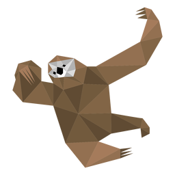 Sloth claw low poly