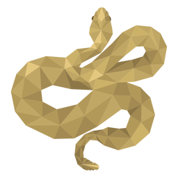 Cobra torção cauda baixa poli