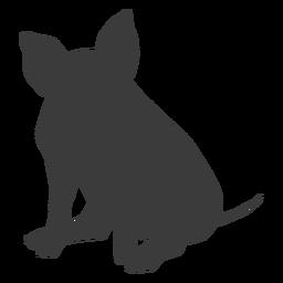 Snout pig ear hoof sitting silhouette
