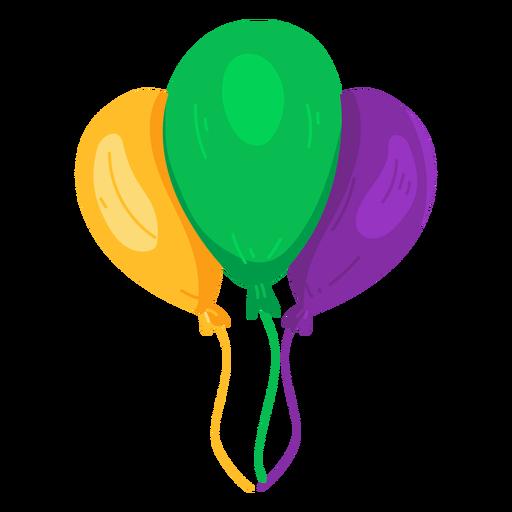 Balão de cordas três apartamento Transparent PNG