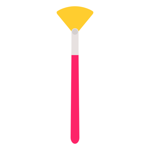 Tool brush bristle painting flat Transparent PNG