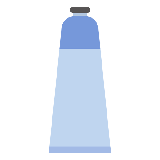 Schlauchkappenfarbe blau flach Transparent PNG