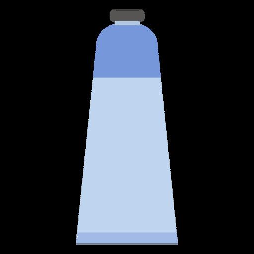 Tube cap paint blue flat Transparent PNG