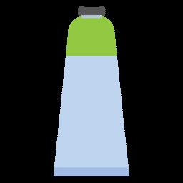 Tapa de tubo pintura verde plana