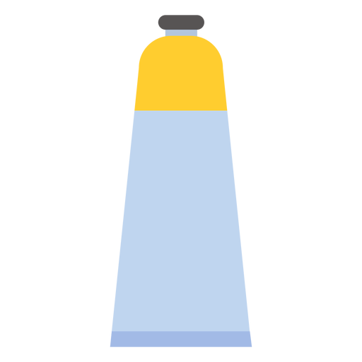 Tube cap paint yellow flat
