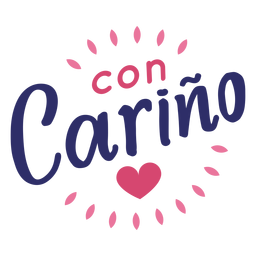 Valentine con carino heart badge sticker