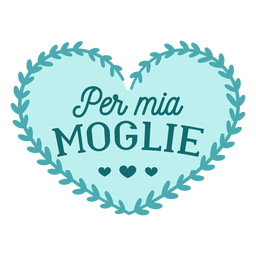 Valentine italian per mio marito badge sticker