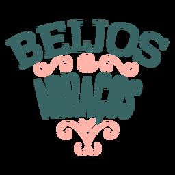 Namorados portugueses beigos abraços crachá autocolante