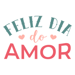 Valentine portuguese feliz do amor badge sticker
