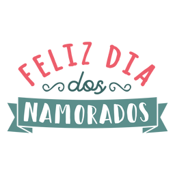 Valentine portuguese feliz dos namorados badge sticker
