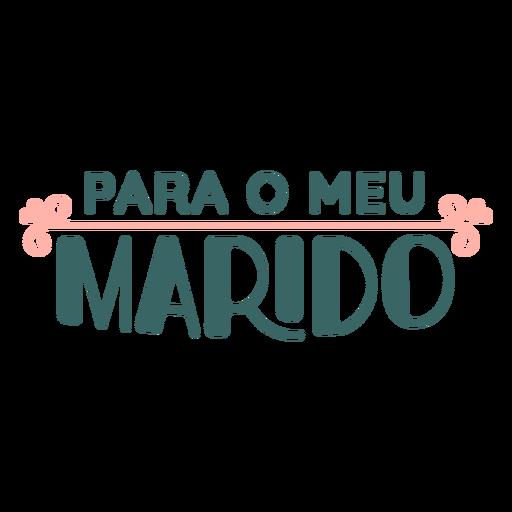 Namorados portugueses para o meu marido autocolante Transparent PNG