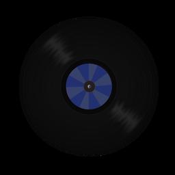 Ilustración de patrón de disco de vinilo