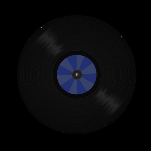 Ilustración de patrón de disco de vinilo Transparent PNG