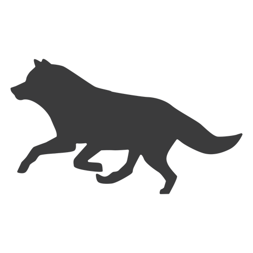 Wolf predator tail silhouette - Transparent PNG & SVG ...
