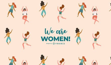We are Women! Illustration