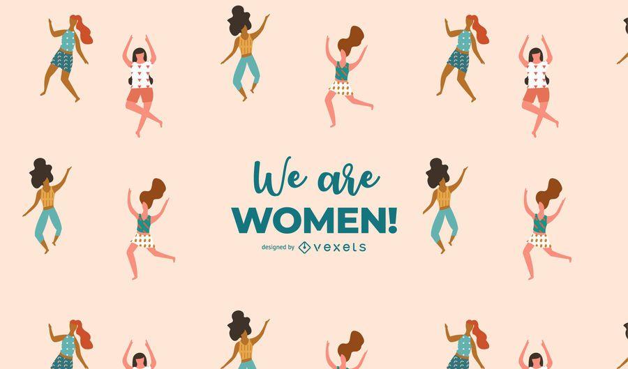 We are Women! Illustration