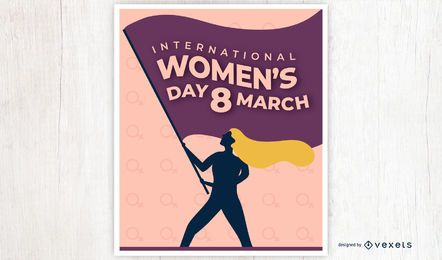 International Women's Day Poster Design