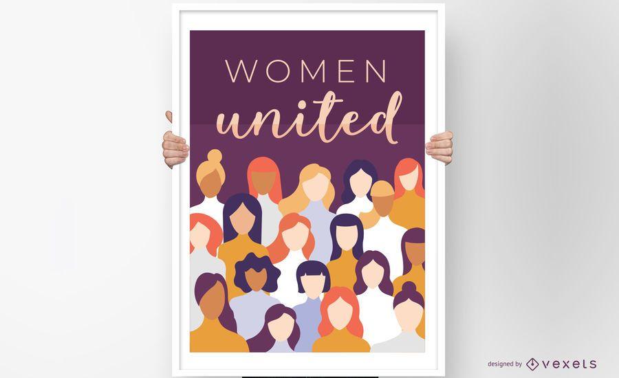 Women United Poster Design