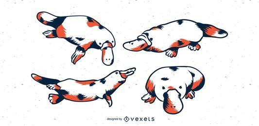 Platypus duotone set