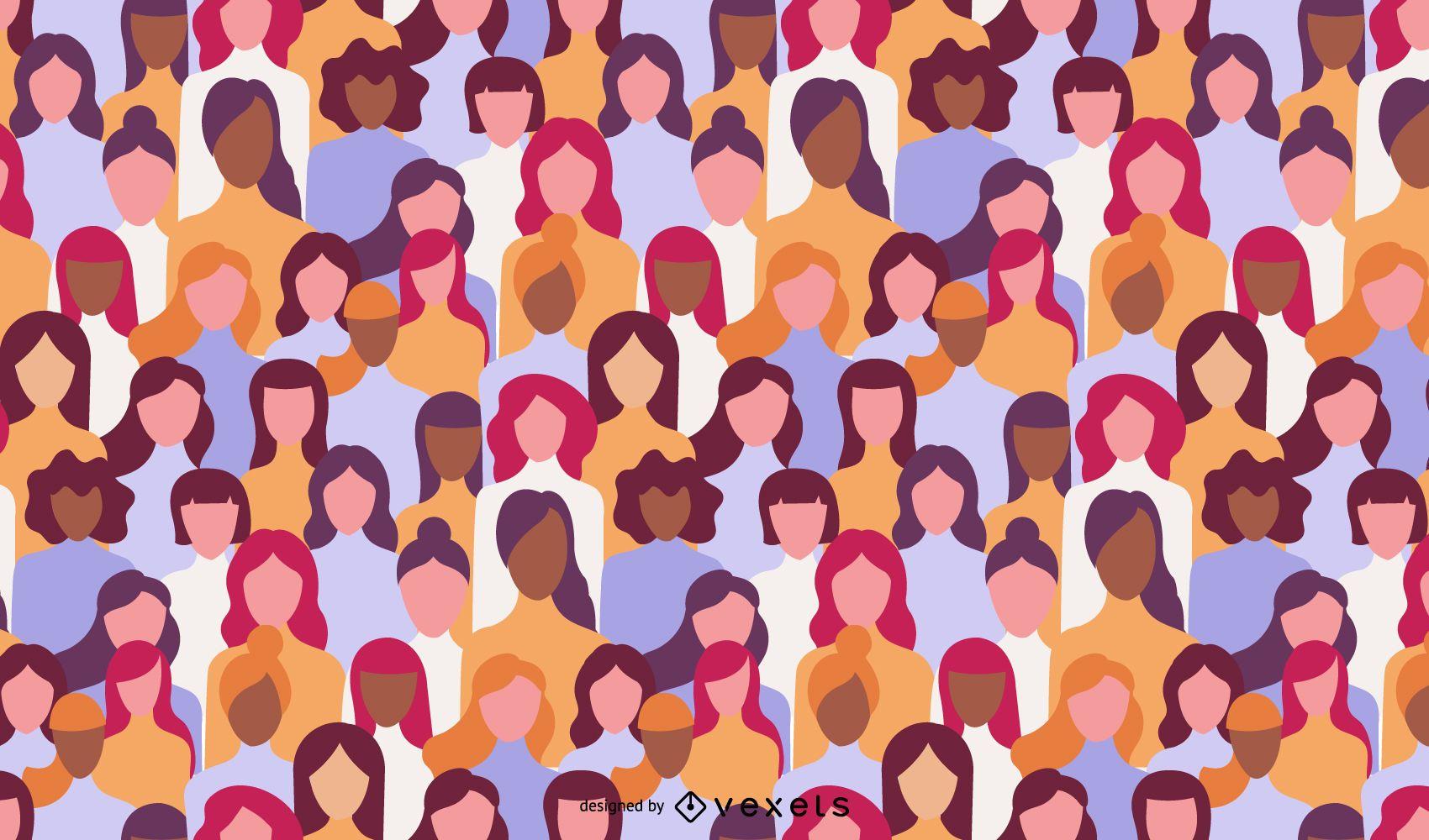 Design de padr?es para o dia da mulher