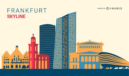 Frankfurt Skyline Design