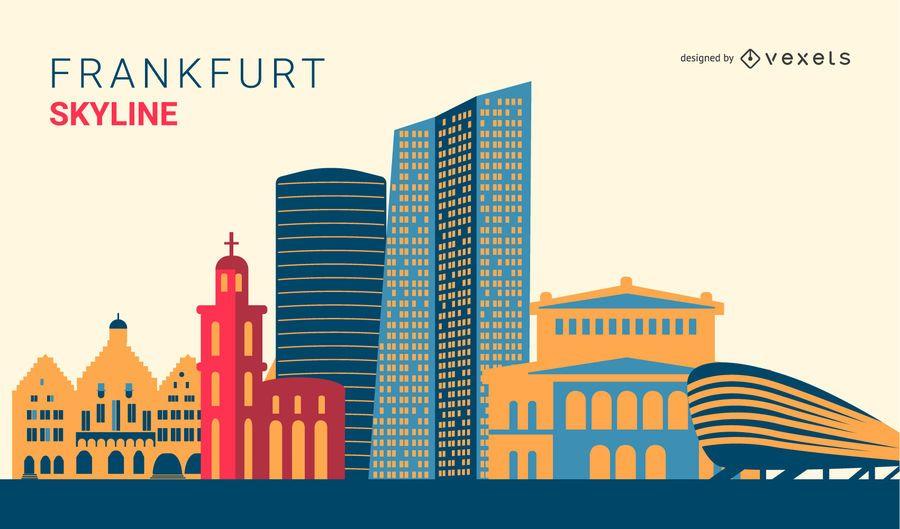 Frankfurt Skyline Design