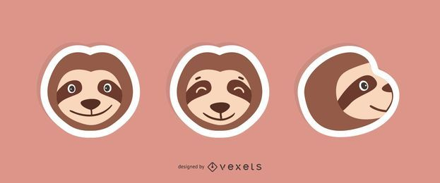 Sloth Sticker Set