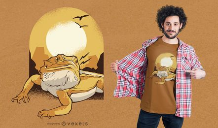 Bearded Dragon T-Shirt Design