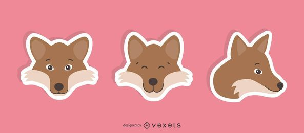 Wolf Sticker Set
