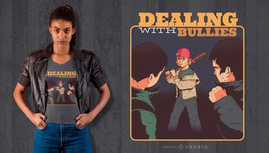 Bully Kid T-Shirt Design