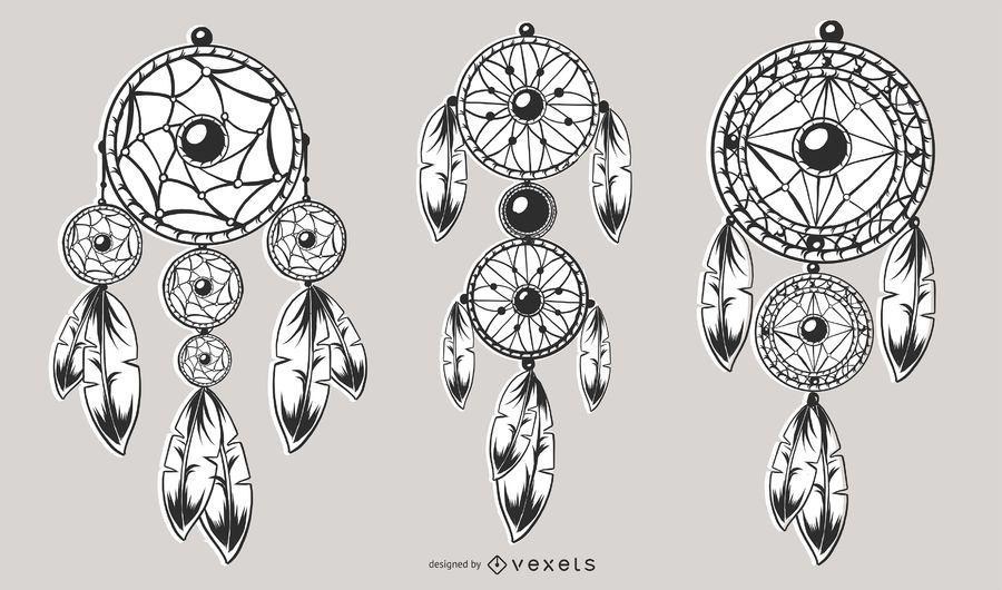 Set de diseño Dream Catcher