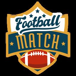 Distintivo de futebol americano