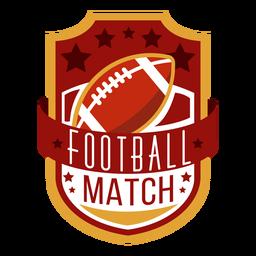 American Football-Schriftzug