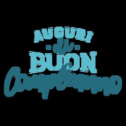 Letras de Auguri di buon compleanno